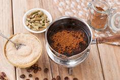 Authentic Turkish Coffee - Recipes to make - Kaffee Tea Sandwiches, Coffee Drink Recipes, Coffee Drinks, Coffee Menu, Coffee Latte, Coffee Bars, Spiced Coffee, Coffee Cup, How To Make Coffee