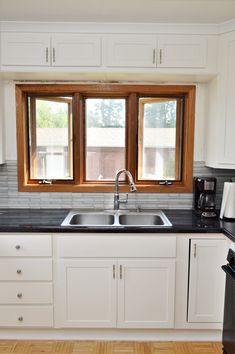North Judson Indiana design firm installing HAAS cabinetry in your kitchens and bathrooms. Kitchen Cabinetry, White Cabinets, Double Vanity, Kitchens, Doors, Usa, Home Decor, Style, Kitchen Cabinets