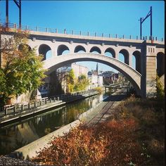 Manayunk Canal - just outside Philly is GREAT PLACE for food, fun, shopping and drink!