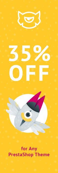Have a Wonderful Shopping & Save 35% OFF on Any PrestaShop Themes - https://www.templatemonster.com/prestashop-themes.php?utm_source=pinterest_cpc&utm_medium=tm&utm_campaign=prestamay