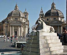 Piazza del Popolo. Roma