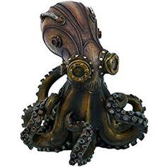 Steampunk Octopus Collectible Figurine