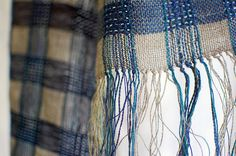 looks like plain weave until you look closely - it is a swedish weave - love it..