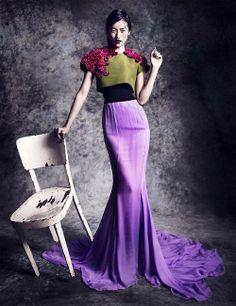Chanel Haute Couture, Vogue Thailand, October 2013