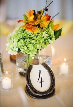 Show Ad - Decor - USA - North Carolina - Horseshoe Frame Table Numbers | Weddingbee