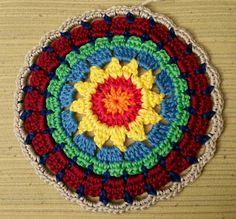 YFP#33. EyeLoveKnots Yarn Favorite from the Yarn Fanatic Party #32. My world of crochet: Always the same!; Granny Square Mandala