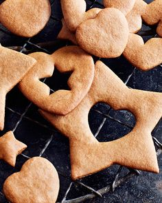 Swedish Pepper Cookies - Pepparkaker -  #sweetpaul