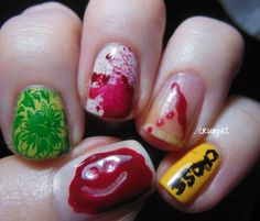 Crumpet's Nail Art of the Year. Dexter