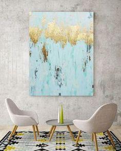 A Light Spray, Canvas Art
