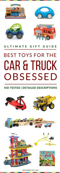 Non toy gift guide gifts to receive in your mailbox pinterest gift guide best vehicle toys for car truck construction fandeluxe Image collections
