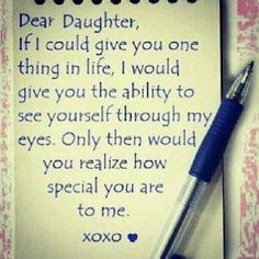 Love my daughter.  She is amazing