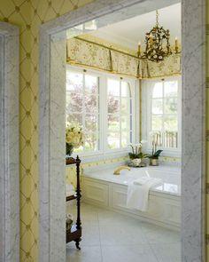 English Country Estate Bath TraditionalNeoclassical by Linda L Floyd Inc Interior Design