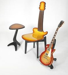 metzart - Guitar Chairs and Tables