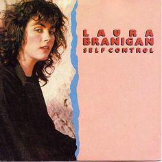 "Laura Branigan ""Self Control"" (1984) single"