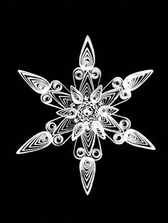 Quilled Snowflake Tutorial | Created by Beth Reece. Blogged:… | Flickr