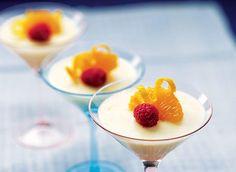 Mousse à l'orange recette   Plaisirs laitiers