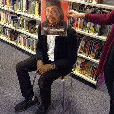 #bookfacefriday South Devon College #postimpressionists