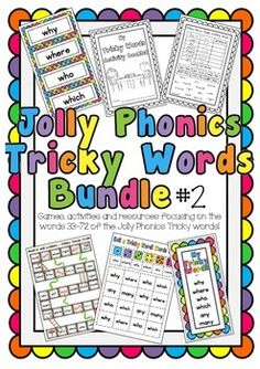 New tricky word games activities ideas Tricky Word Games, Jolly Phonics Tricky Words, Phonics Words, Activity Games, Activities, Building Games For Kids, Fun Wedding Games, Coming Games, Phonics Programs