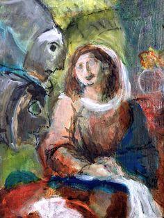 A. Beck, Blüten der Erwartung, Acryl auf Leinwand, 40 x 30 cm, 2010, 490 €