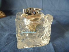 Table Lighter  Chunky Ice Block  English  Found by GlassEyedGoblin, €25.00