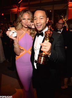 Chrissy Teigen and John Legend Party After the Oscars!