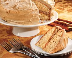 Nutmeg Feather Cake - Recipes at Penzeys Spices