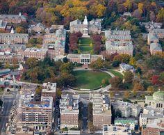 Johns Hopkins University Homewood Campus, Baltimore, Maryland
