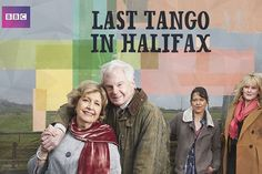 Last Tango In Halifax-Two 70-something former classmates reconnect on Facebook, then decide to get married before they've even finished their tea. What follows is a Yorkshire version of Step By Step, with new stepsisters Gillian (an independent, tough-talking farmer) and Caroline (a prissy headmaster who's just come out) struggling to bond despite their differences.