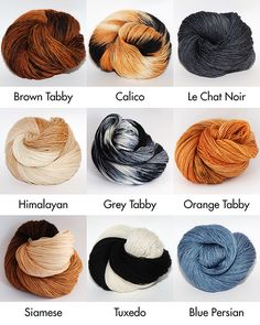 Hand-dyed Yarn Inspired by Cats http://www.hauspanther.com/2013/08/26/hand-dyed-yarn-inspired-by-cats/