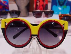 Eccentric Bedazzled Sunglasses - The SPANGLED S/S 2013 Collection Preview is Jazzy (GALLERY)
