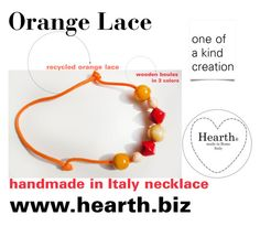 """""""Orange Lace"""" by hearthfashion on Polyvore featuring moda"""