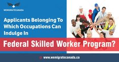 Federal skilled worker program focuses on attracting young skilled workers to Canada who in length contribute to the economic development in the country. Federal Skilled Worker, Free To Use Images, Economic Development, High Quality Images, Programming, Finding Yourself, How To Apply, 1 Year, Portal