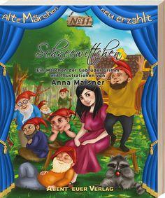 """Märchen """"Schneewittchen"""". Ich hatte das große Vergnügen an der Buchreihe """"Alte Märchen neu erzählt"""" mit illustrieren zu dürfen. Ab Juni könnt ihr euch das Buch bestellen!"""