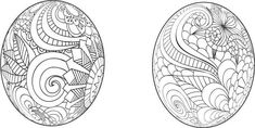 Easter Egg cdr, Ornate Easter Eggs, Mandala, Egg, Circle Monogram, Zentangle, Easter Decal, Swirl Eggs, Fancy Egg, Happy Easter Cdr, Eggs by MonomShop on Etsy Easter Egg Cartoon, Easter Eggs, Vector File, Vector Art, Egg Pictures, Easter Egg Pattern, Easter Egg Designs, Circle Monogram, Vector Design