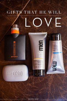 Finding a gift for your guy is simple! Choose from suncare, cologne and skincare that make up our MKMen® line! | Mary Kay