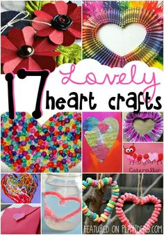 17 Lovely Heart Crafts