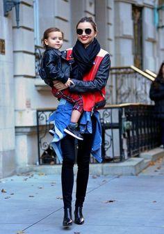 Miranda Kerr - Miranda Kerr Leaving Her NYC Apartment With Flynn