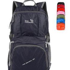 ed4ebe9d26f9 LARGE 30L Outlander Packable Handy Lightweight Travel Backpack or Daypack  with Lifetime Warranty Hiking Backpack