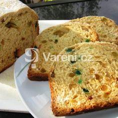 Fotografie receptu: Sladký mazanec z pekárny Kefir, Banana Bread, French Toast, Breakfast, Desserts, Food, Morning Coffee, Tailgate Desserts, Deserts