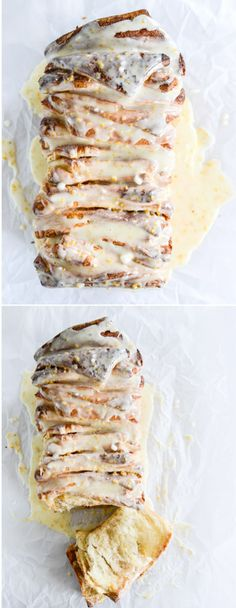Orange Cinnamon Pull Apart Bread by @howsweeteats I howsweeteats.com