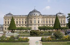 The Residenz in Würzburg - Bavaria