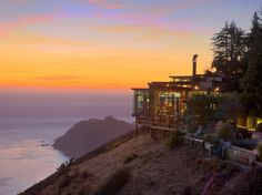 Your new reality: sitting in a clifftop hot tub, drinking a crisp chenin blanc, and watching the sun set over the Pacific. Tomorrow? Complimentary yoga and a visit to the on-site shaman.