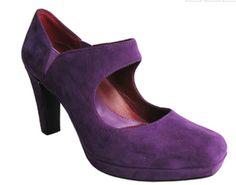 http://www.clog-heaven.com/servlet/the-3213/oh%2C-shoes%2C-purple%2Csuede%2Cpumps%2C-high%2C/Detail    Purple Pumps. High Heel. Mary Jane. Velvet. Velour. Suede. Ankle Strap. Professional. Work. Shoes. Footwear.