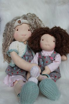 India & Star Sister Waldorf Inspired dolls by mumiBoo on Etsy, CAD #rileyblakedesigns #tashanoel #redridinghood