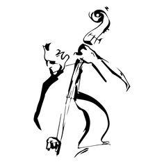 Jazz Sketch Illustration