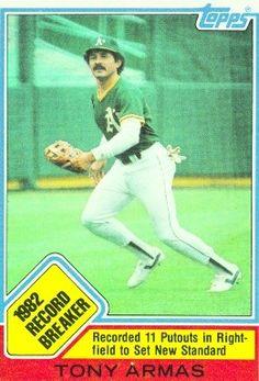 Antonio Armas Oakland Athletics, Mlb, Athlete, Baseball Cards, Sports, Hs Sports, Sport