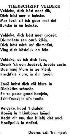 Gedicht uit Kanton Weert 5-6-1964 Meer https://weertbijzonder.jimdo.com/gedichten/