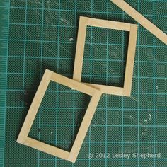 Make Opening Glass Front Upper Cabinets for a Dollhouse Kitchen