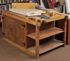 Lot 676 – *Bookbinding workbench. A – Two Day Sale of Printed Books & Maps 06 mars 2013