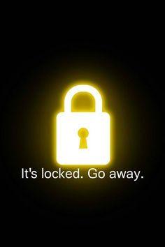 Funny iPhone lock screen
